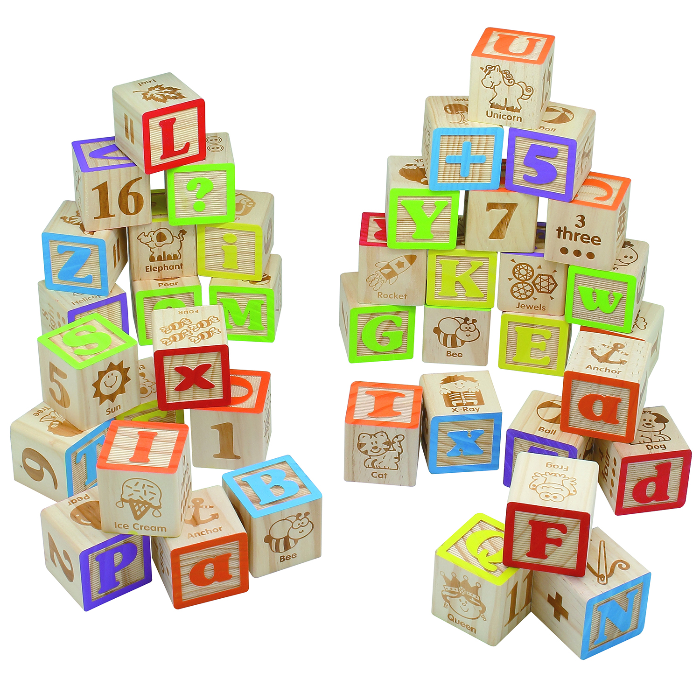 40pc Abc Blocks 45mm